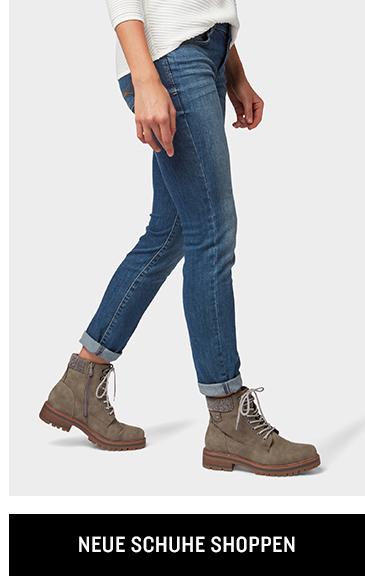 Neue Schuhe shoppen