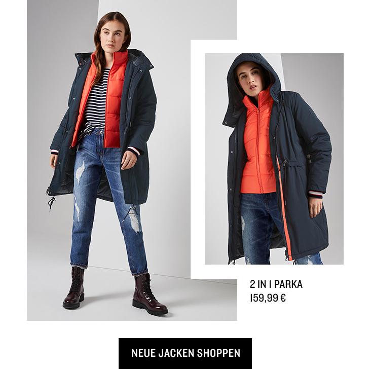 Neue Jacken shoppen